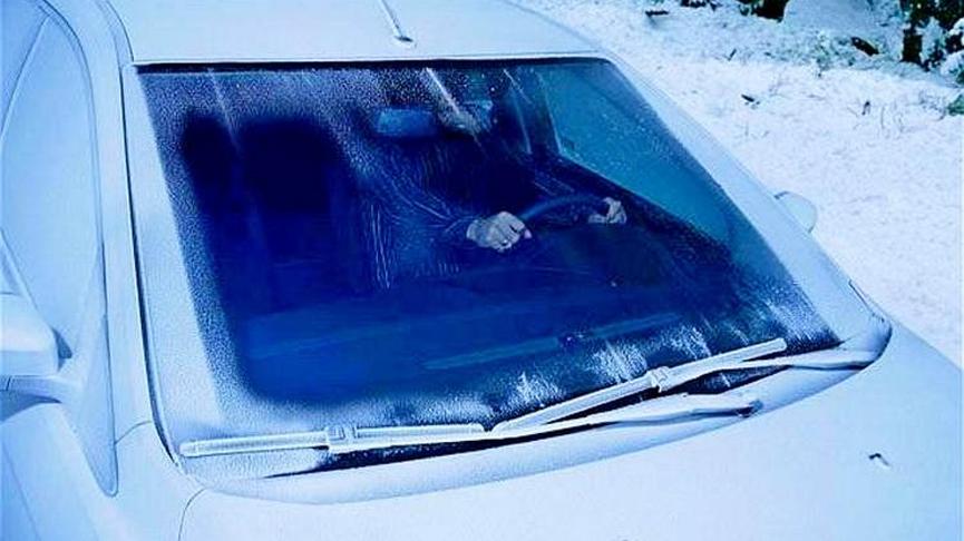 Установка обогрева лобового стекла автомобиля