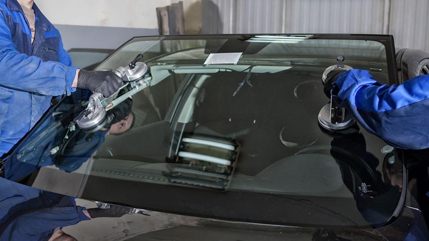 Замена лобового стекла - видео