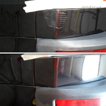Полировка царапин автомобиля